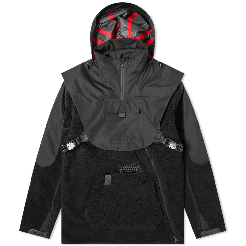 ナイキ Nike x MMW メンズ フリース マシュー ウィリアムズ トップス【Nike x Matthew Williams SE Fleece Jacket】Black