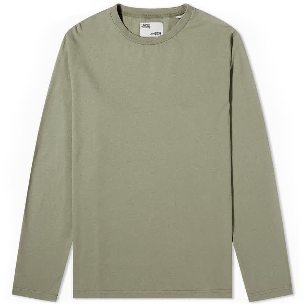 カラフルスタンダード Colorful Standard メンズ 長袖Tシャツ トップス【Long Sleeve Classic Organic Tee】Dusty Olive