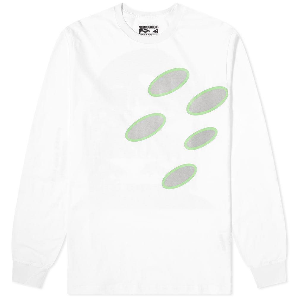 ネイバーフッド Neighborhood メンズ 長袖Tシャツ トップス【x P.A.M Long Sleeve Tee】White