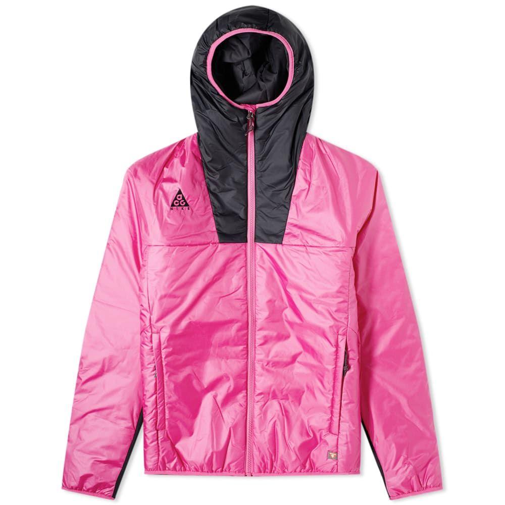ナイキ Nike メンズ ジャケット アウター【ACG Primaloft Jacket】Active Fuchsia/Black
