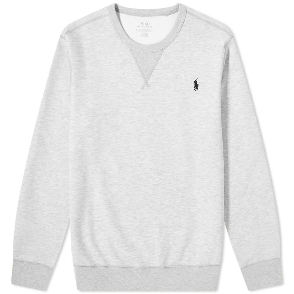 ラルフ ローレン Polo Ralph Lauren メンズ フリース トップス【Tech Fleece Crew Sweat】Light Sport Heather/Black