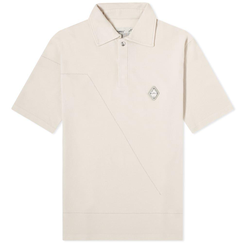 アコールドウォール A-COLD-WALL* メンズ ポロシャツ トップス【Rhombus Logo Polo】Moonbeam