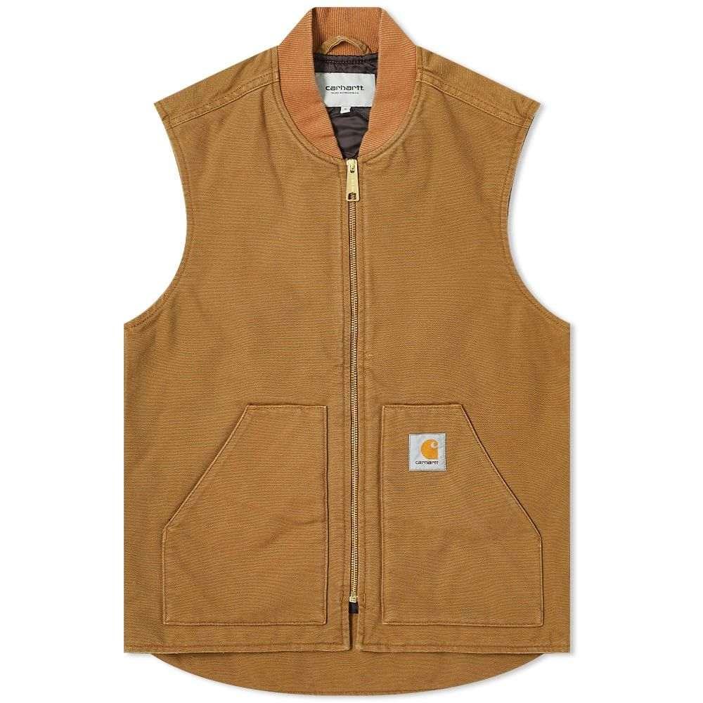 カーハート Carhartt WIP メンズ ベスト・ジレ トップス【Classic Vest】Hamilton Brown