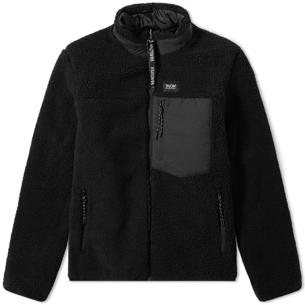 ヴァンキッシュ Vanquish メンズ フリース トップス【Taion Reversible Fleece Jacket】Black