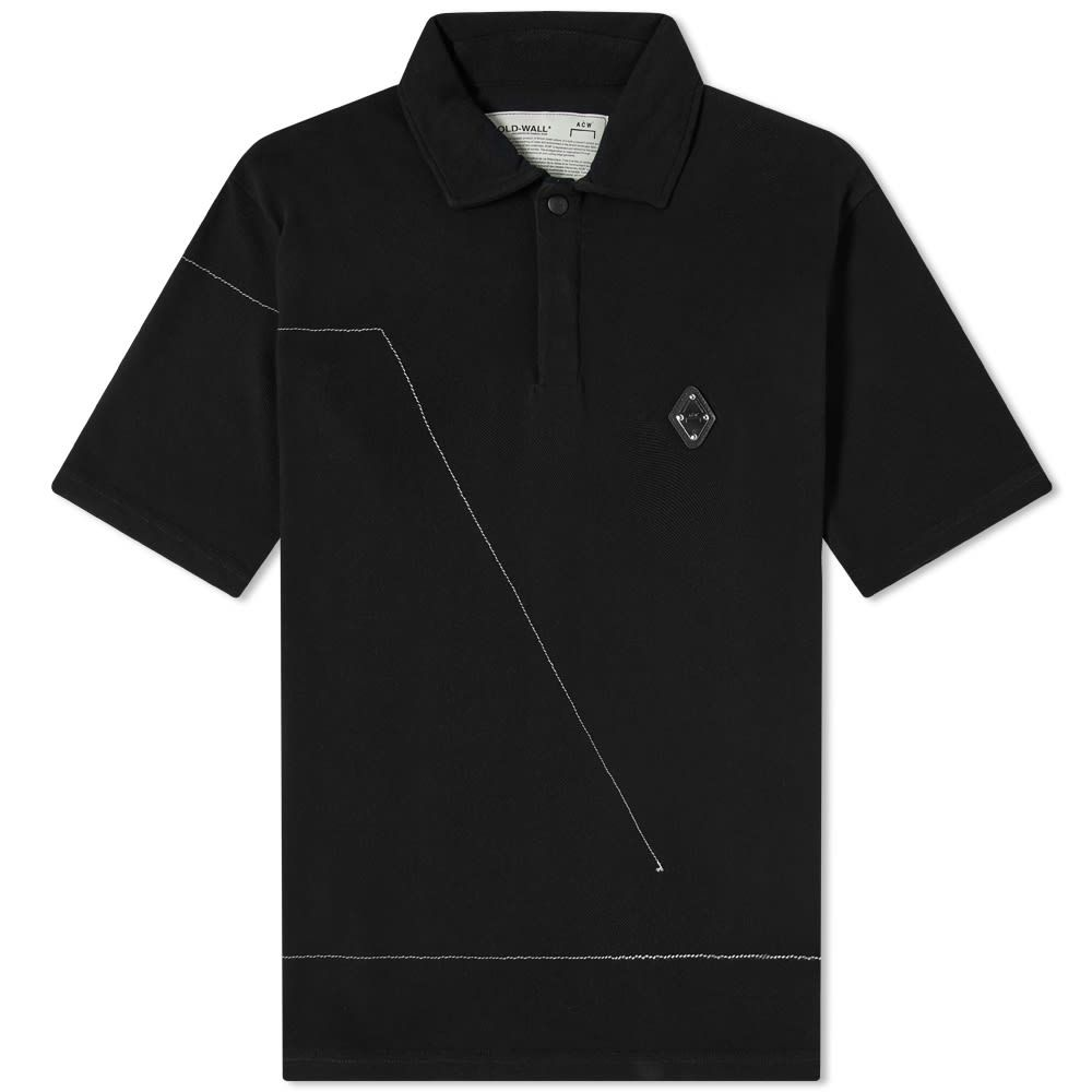 アコールドウォール A-COLD-WALL* メンズ ポロシャツ トップス【Rhombus Logo Polo】Black
