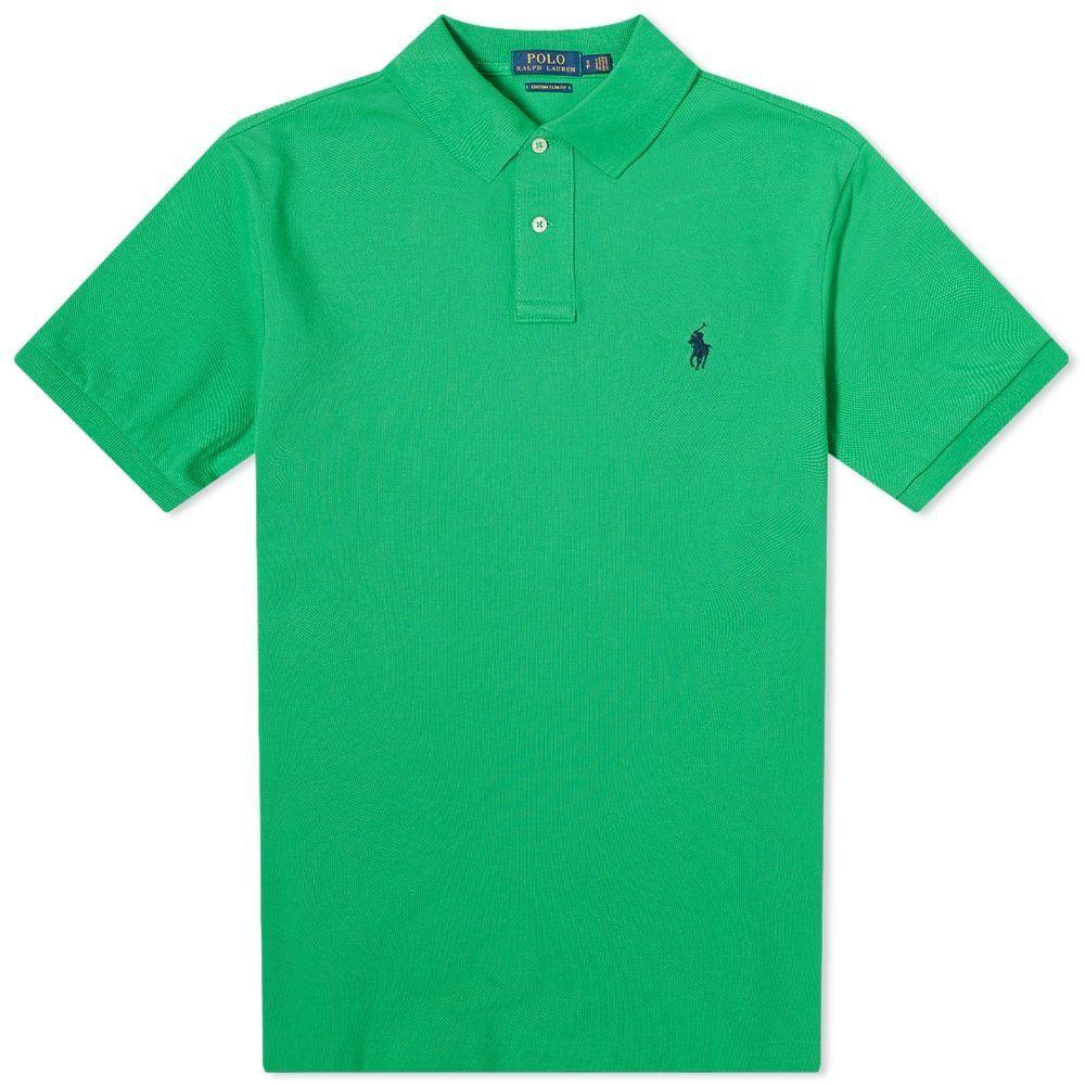 ラルフ ローレン Polo Ralph Lauren メンズ ポロシャツ トップス【Slim Fit Polo】Golf Green