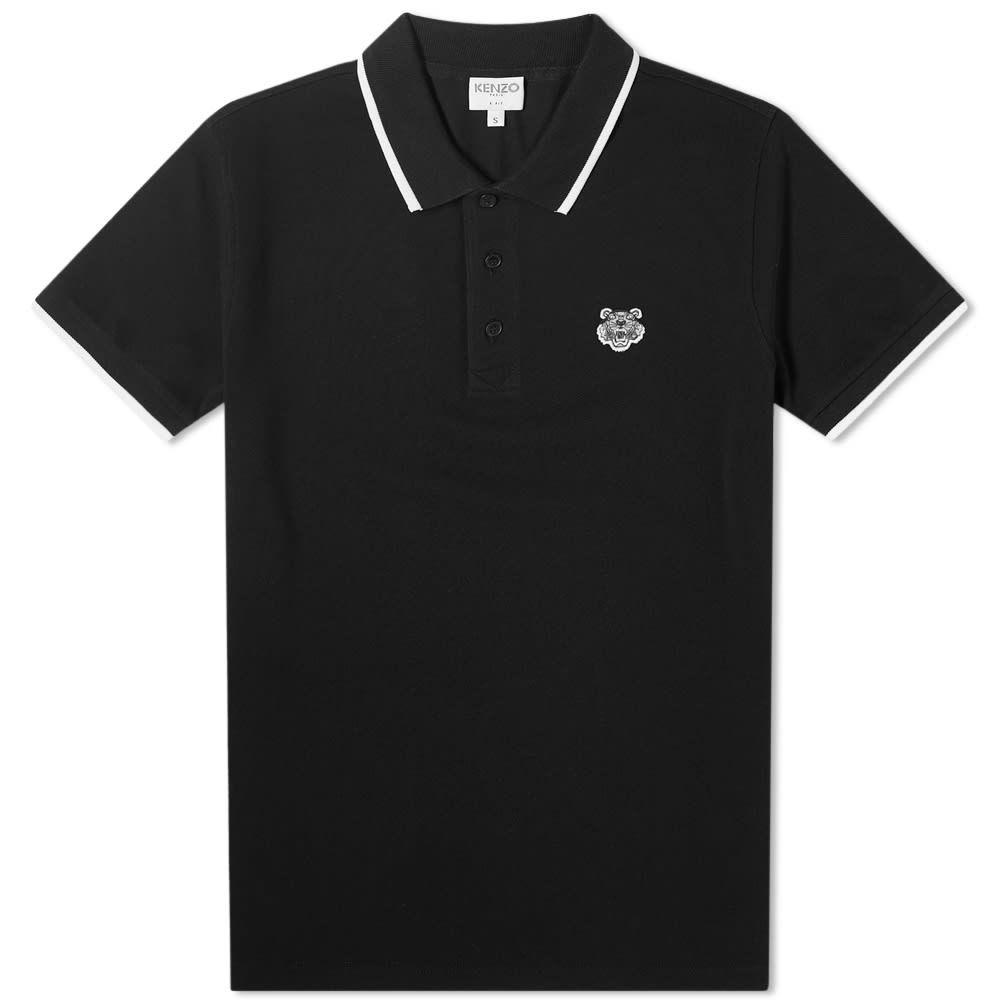 ケンゾー Kenzo メンズ ポロシャツ トップス【Tiger Polo】Black