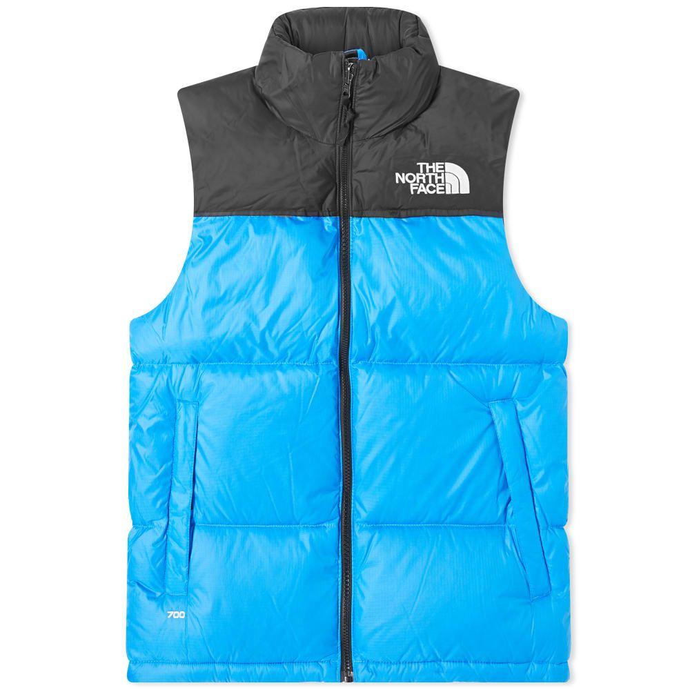 ザ ノースフェイス The North Face メンズ ベスト・ジレ トップス【1996 Retro Nuptse Vest】Clear Lake Blue