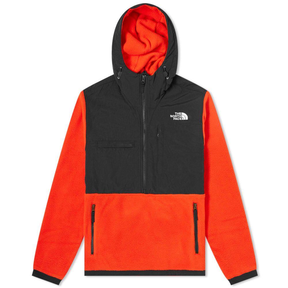 ザ ノースフェイス The North Face メンズ フリース トップス【Denali 2 Hooded Fleece】Fiery Red
