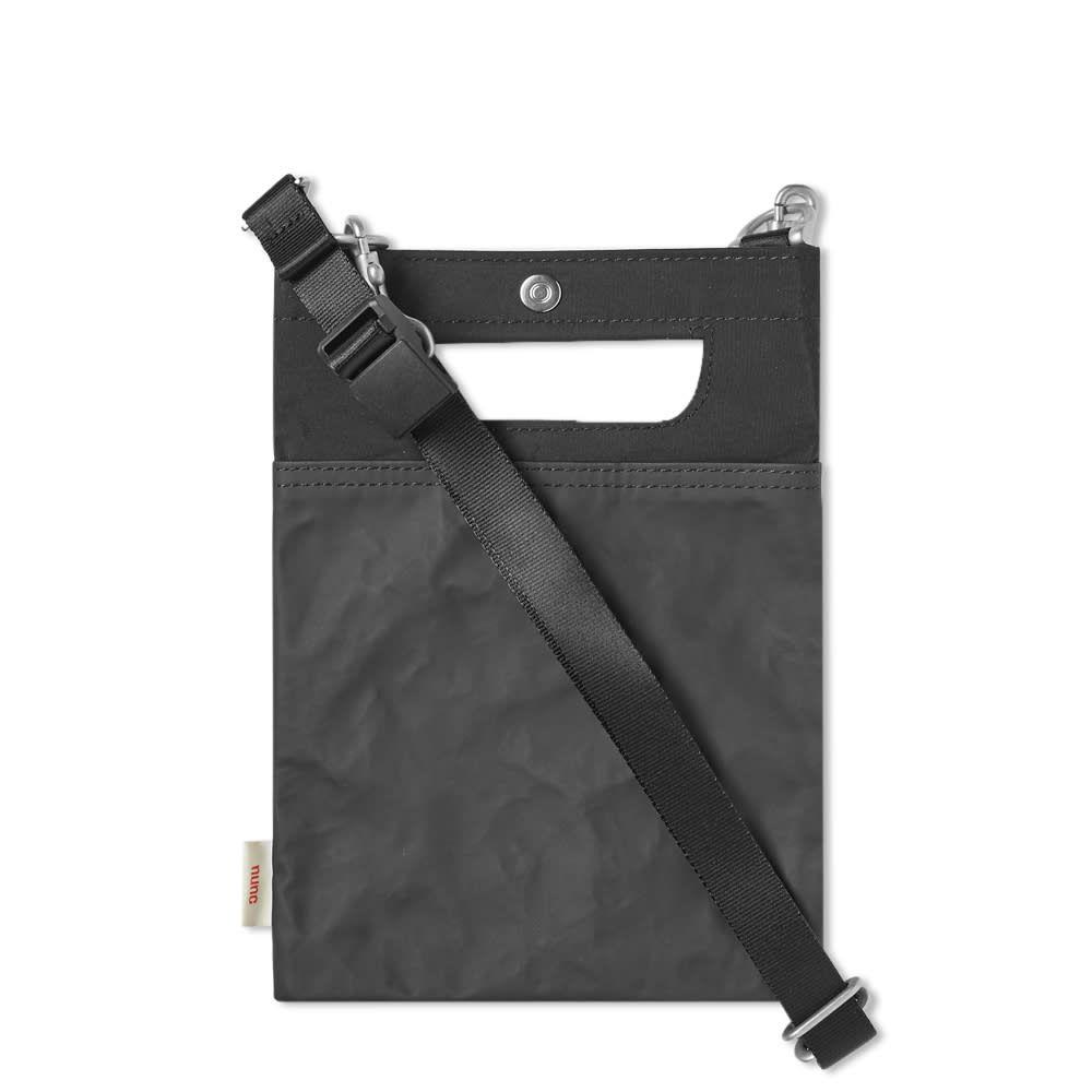 ヌンク nunc メンズ ショルダーバッグ バッグ【Post Shoulder Bag - Small】Black