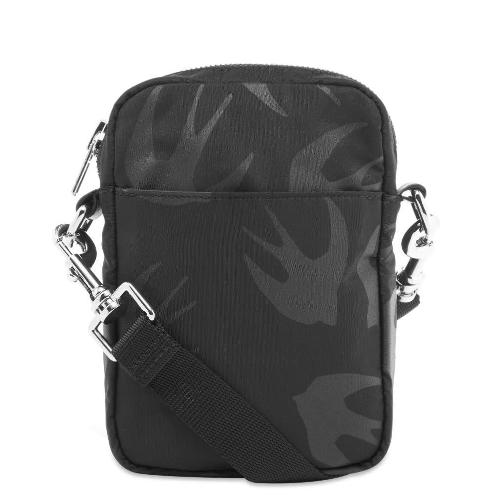 アレキサンダー マックイーン McQ Alexander McQueen メンズ ショルダーバッグ バッグ【Swallow Cross Body Bag】Black