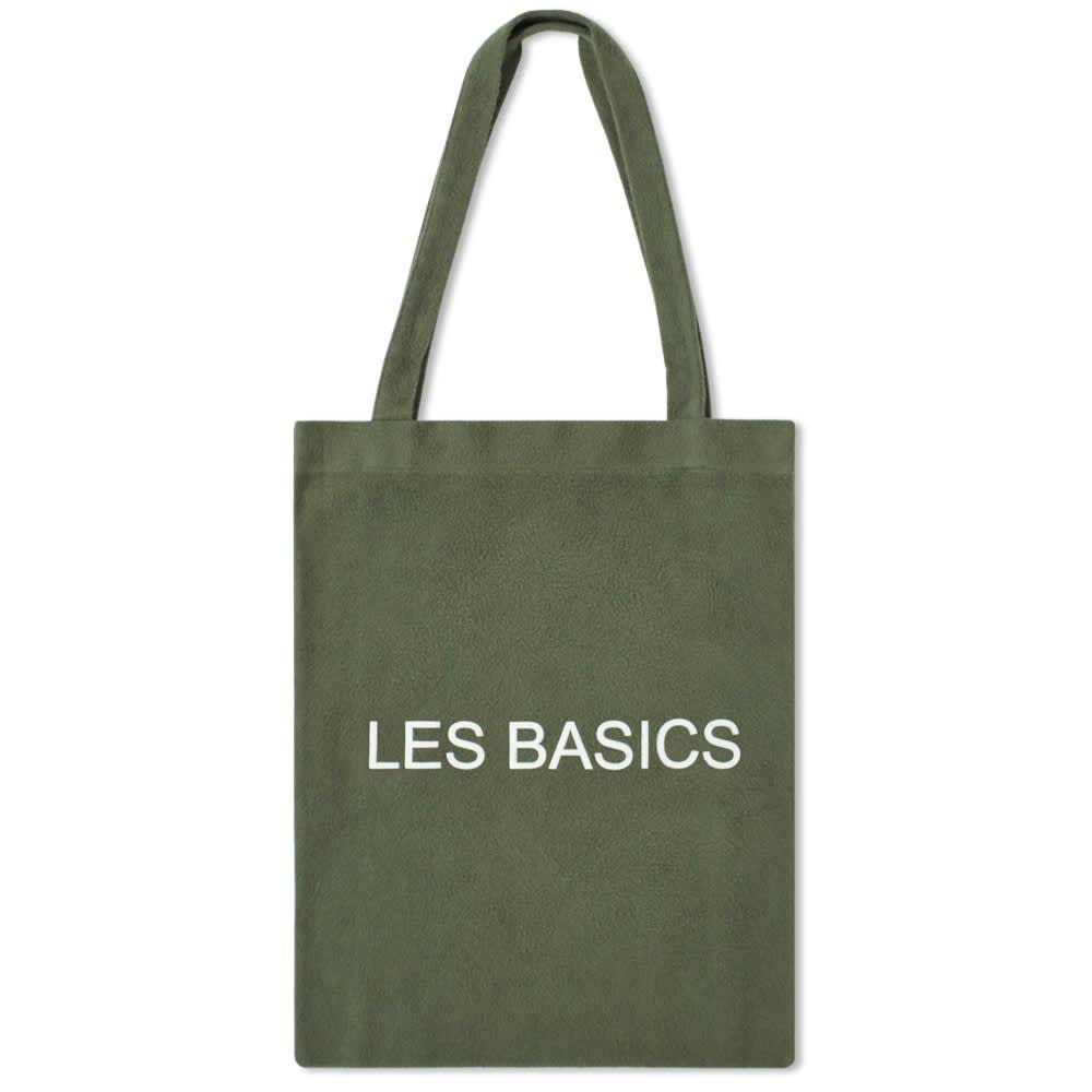 レ ベーシックス Les Basics メンズ トートバッグ バッグ【Le Tote Bag】Sage