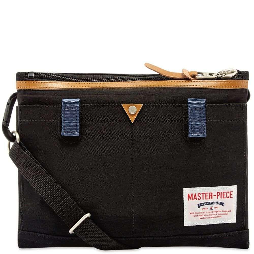 マスターピース Master-Piece メンズ ショルダーバッグ バッグ【Link Series Shoulder Bag】Black
