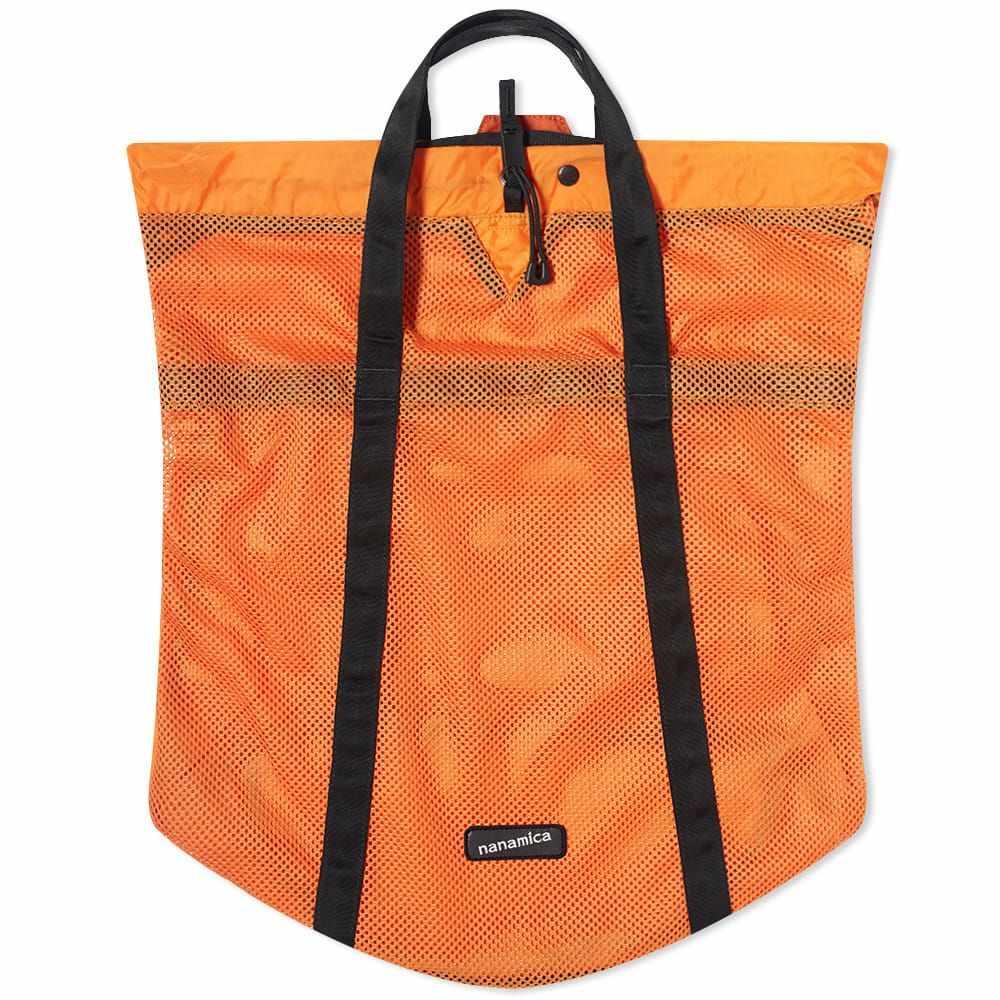 ナナミカ Nanamica メンズ トートバッグ バッグ【Packable Mesh Tote】Orange