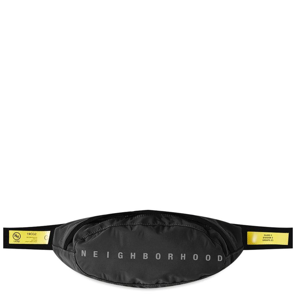 ネイバーフッド Neighborhood メンズ ボディバッグ・ウエストポーチ バッグ【Woven Waist Bag】Black