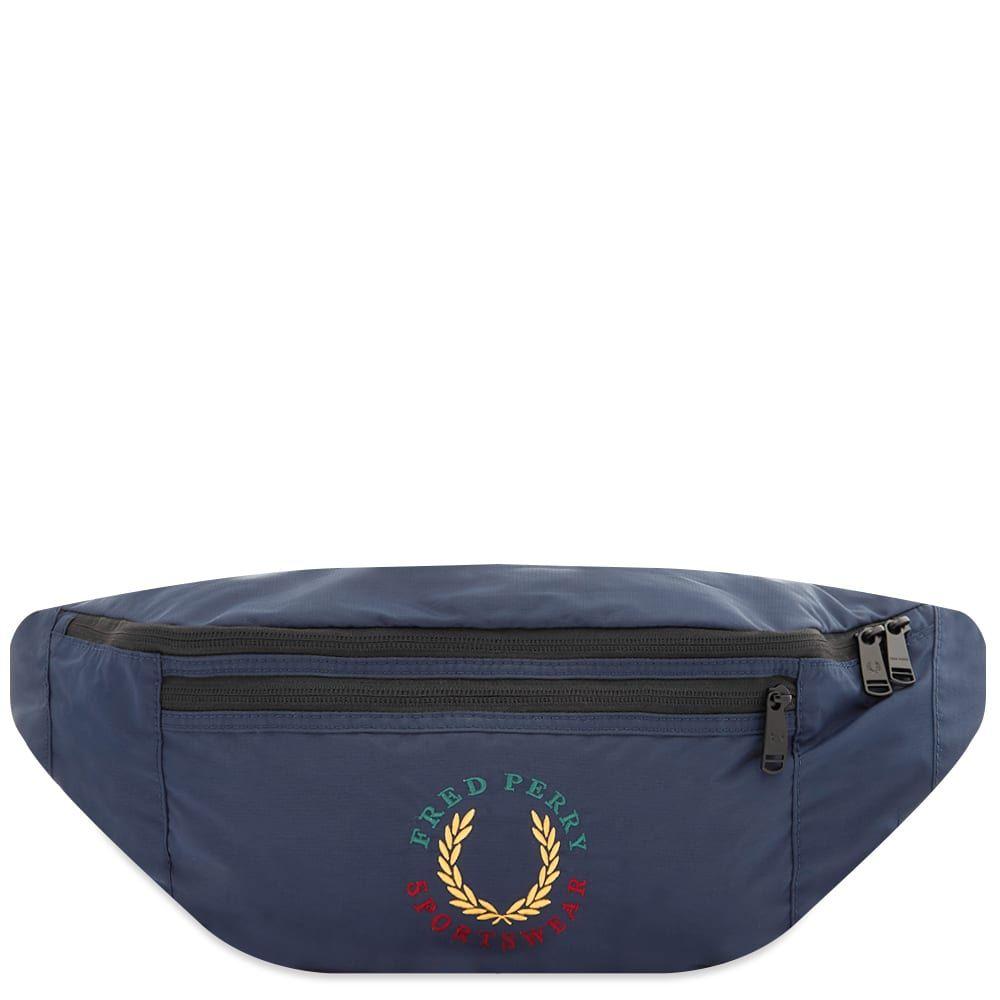 フレッドペリー Fred Perry Authentic メンズ ボディバッグ・ウエストポーチ バッグ【Laurel Logo Waist Bag】Navy