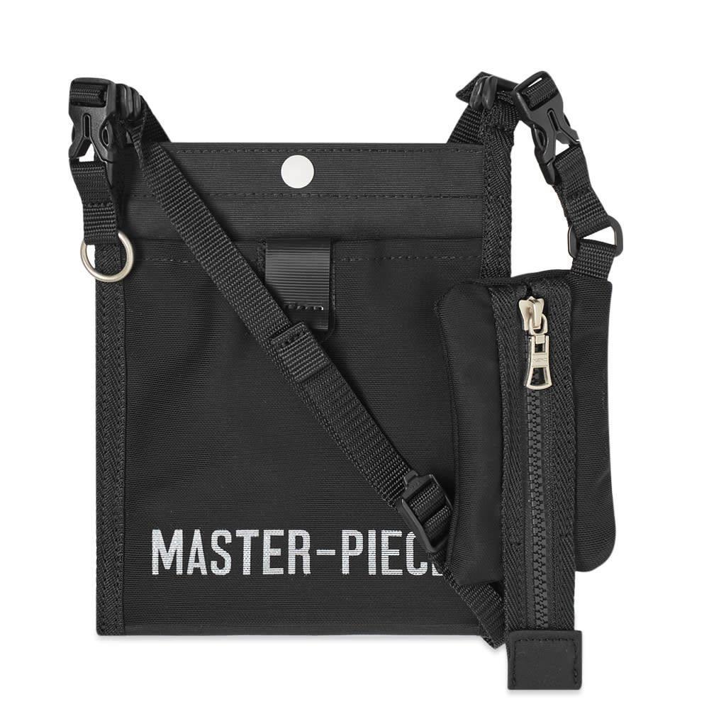 マスターピース Master-Piece メンズ ショルダーバッグ バッグ【Hub Small Sacoche Bag】Black