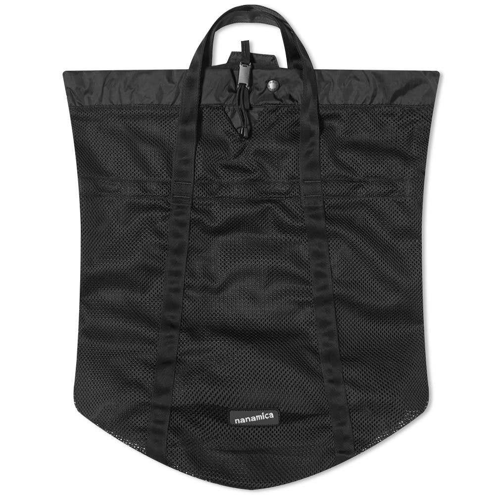 ナナミカ Nanamica メンズ トートバッグ バッグ【Packable Mesh Tote】Black