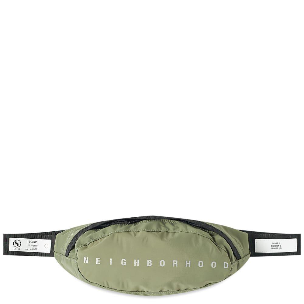 ネイバーフッド Neighborhood メンズ ボディバッグ・ウエストポーチ バッグ【Woven Waist Bag】Olive Drab