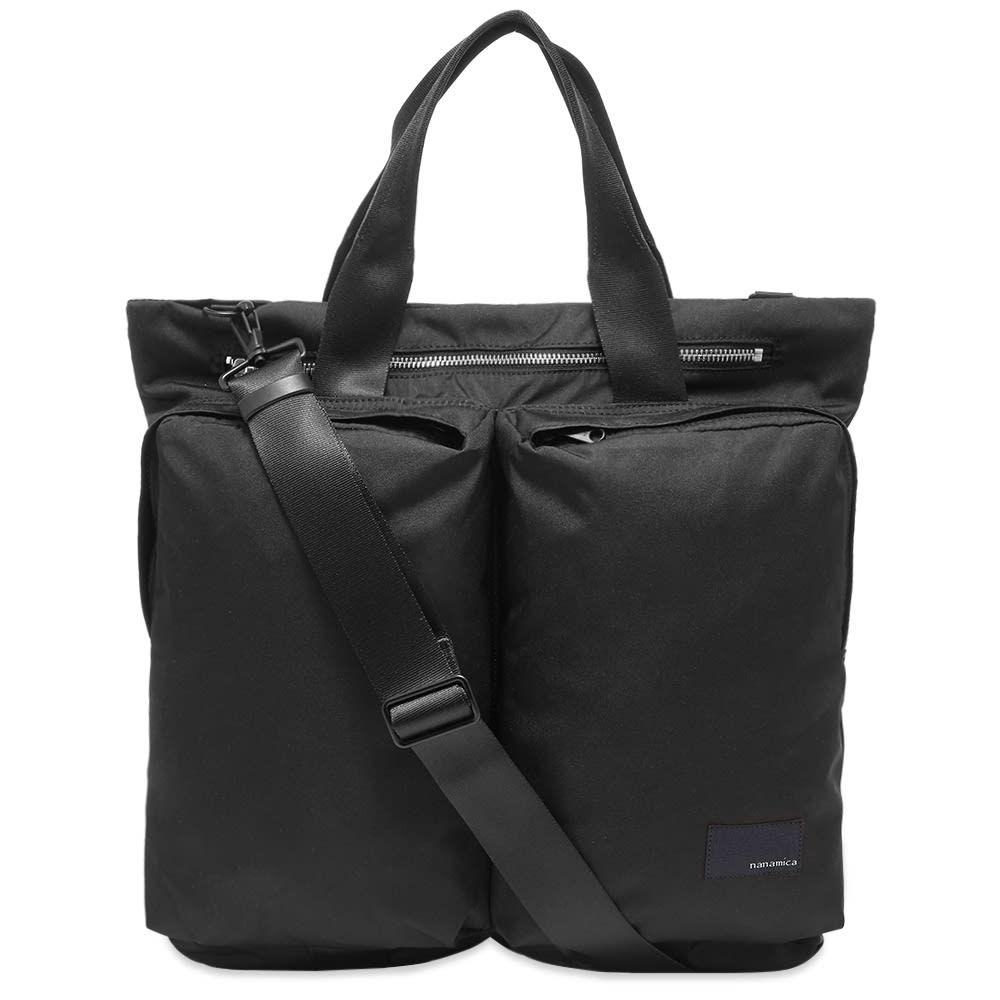 ナナミカ Nanamica メンズ トートバッグ バッグ【2-Way Tote Bag】Black