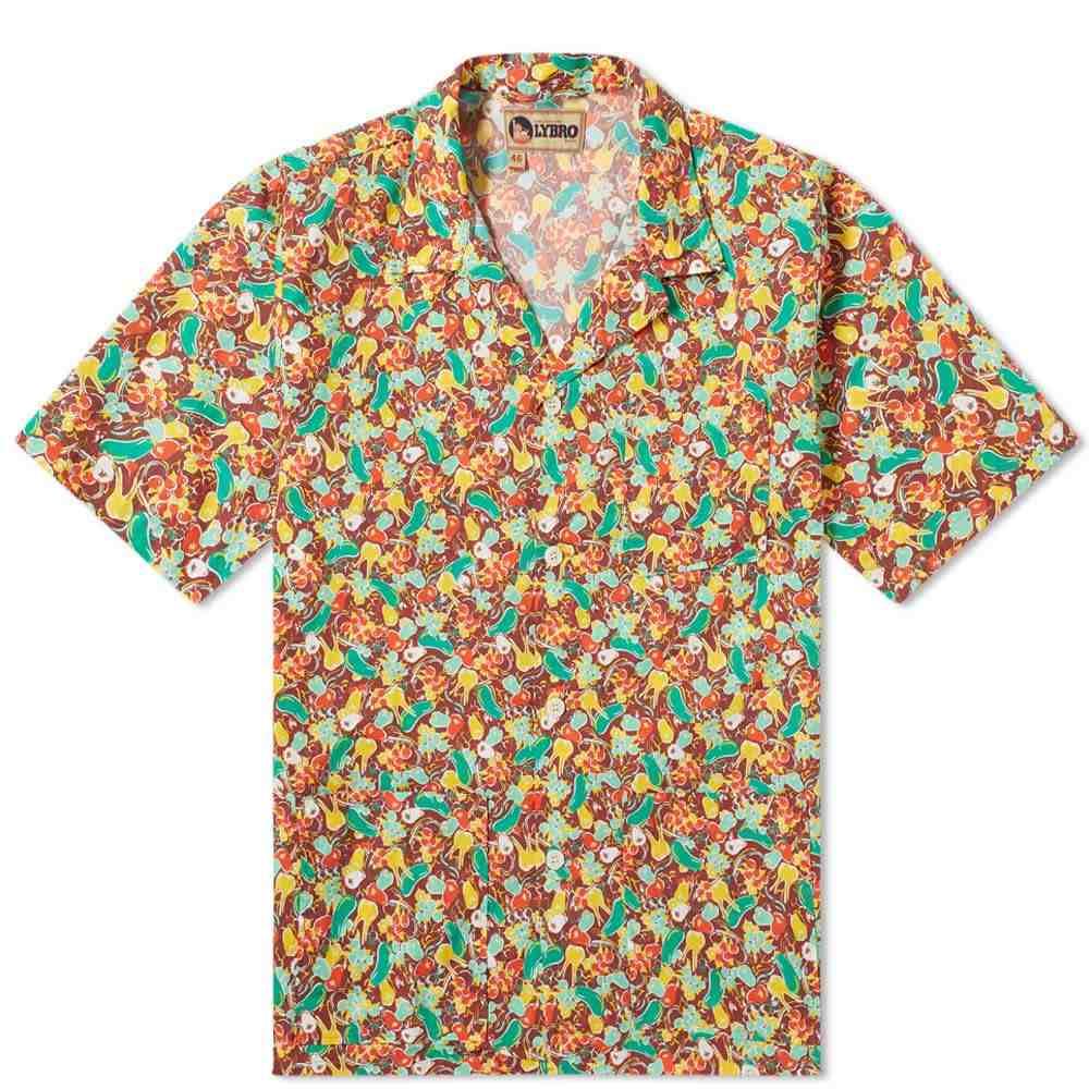 ナイジェルケーボン Nigel Cabourn メンズ 半袖シャツ トップス【Frankies Shirt】Brown