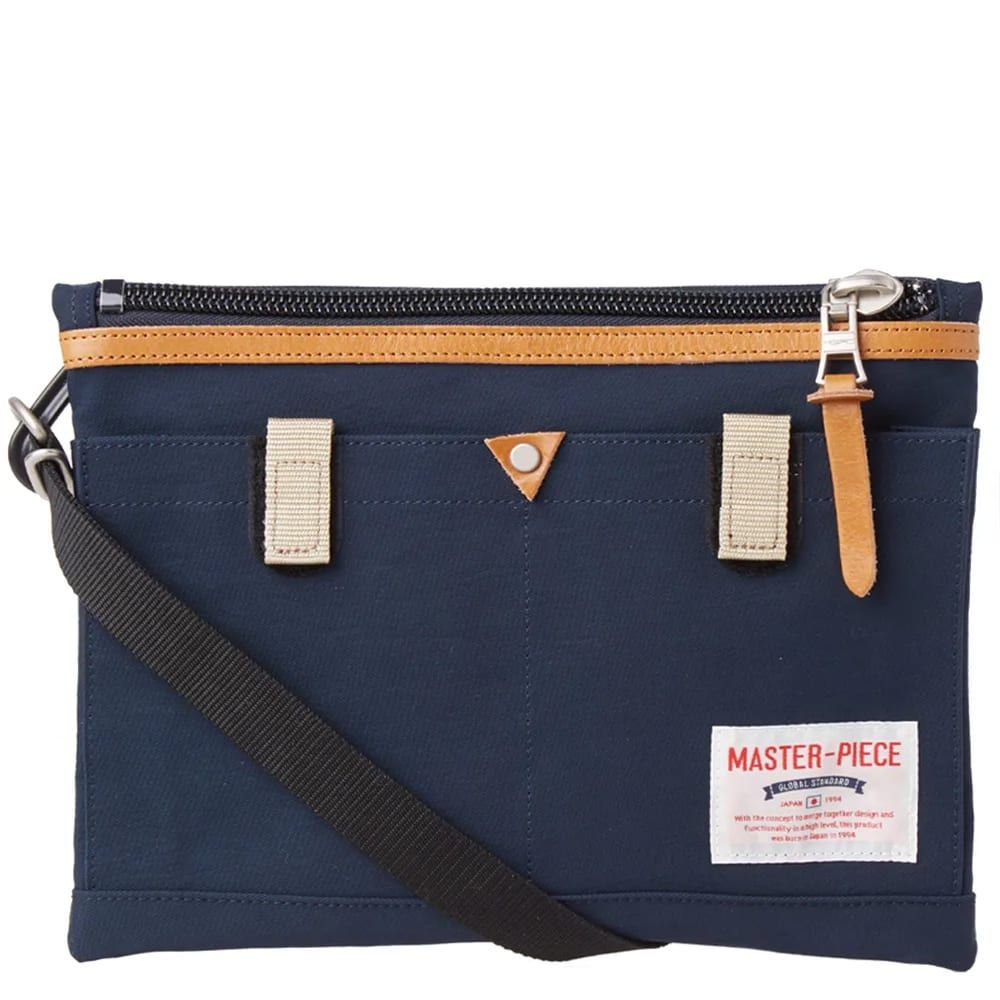 マスターピース Master-Piece メンズ ショルダーバッグ バッグ【Link Series Shoulder Bag】Navy