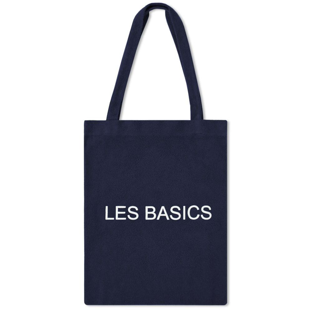 レ ベーシックス Les Basics メンズ トートバッグ バッグ【Le Tote Bag】Navy