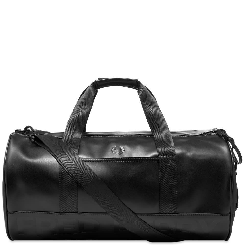 フレッドペリー Fred Perry Authentic メンズ ボストンバッグ・ダッフルバッグ バッグ【Embossed Barrel Bag】Black