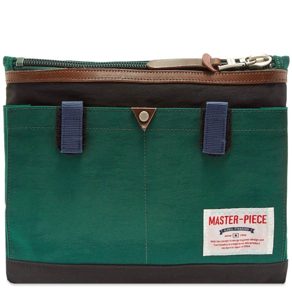 マスターピース Master-Piece メンズ ショルダーバッグ バッグ【Link Series Shoulder Bag】Green