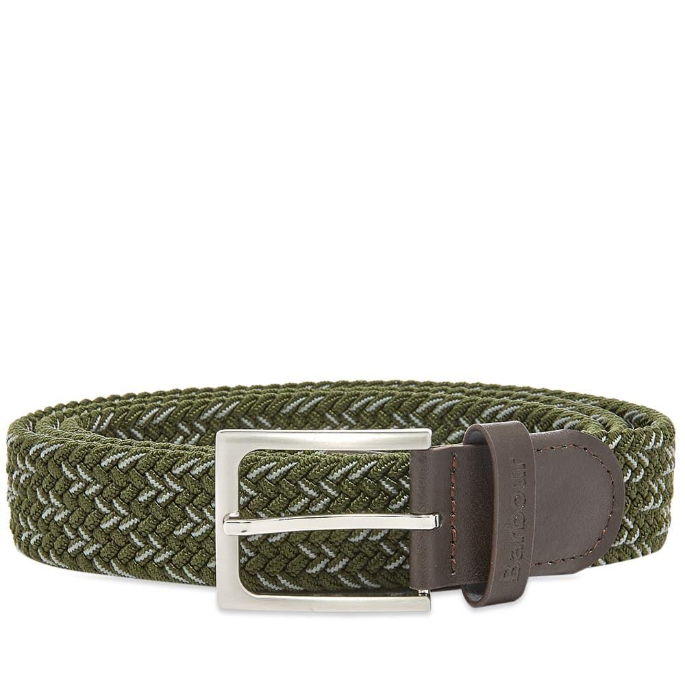 バブアー Barbour メンズ ベルト 【Mariner Ford Belt】Sage/Agave Green