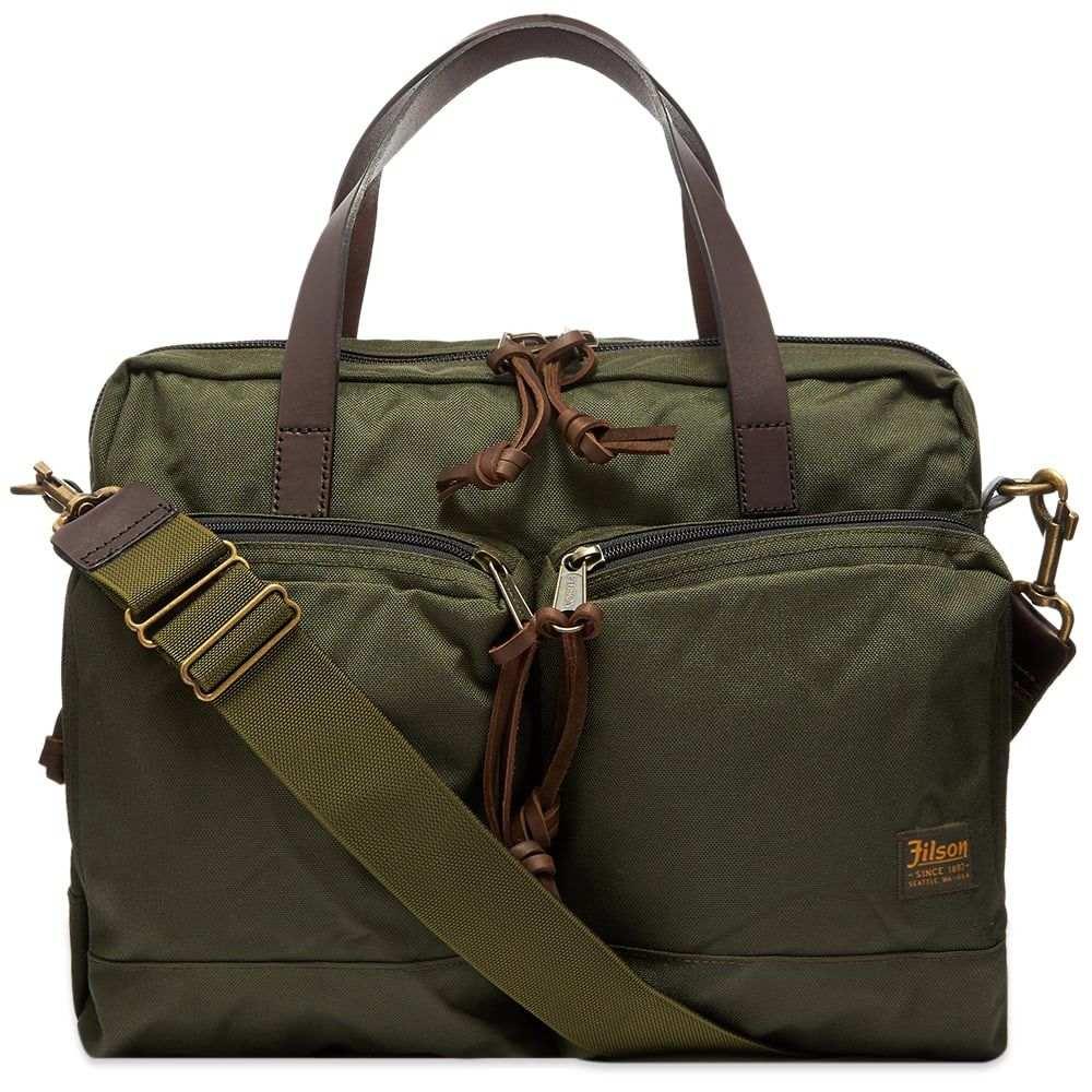フィルソン Filson メンズ ビジネスバッグ・ブリーフケース バッグ【Dryden Briefcase】Otter Green