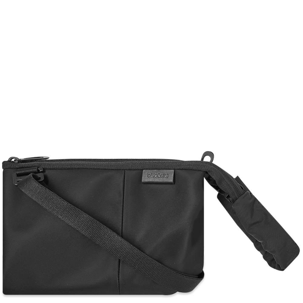 コート エ シエル Cote&Ciel メンズ ショルダーバッグ バッグ【Kivu S Bag】Black