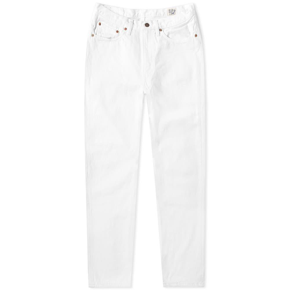 オアスロウ orSlow メンズ ジーンズ・デニム ボトムス・パンツ【107 Ivy League Slim Jean】White