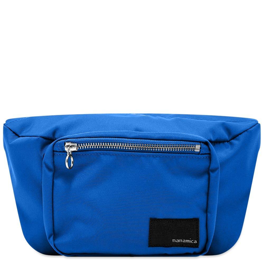 ナナミカ Nanamica メンズ ボディバッグ・ウエストポーチ バッグ【Waist Bag】Blue