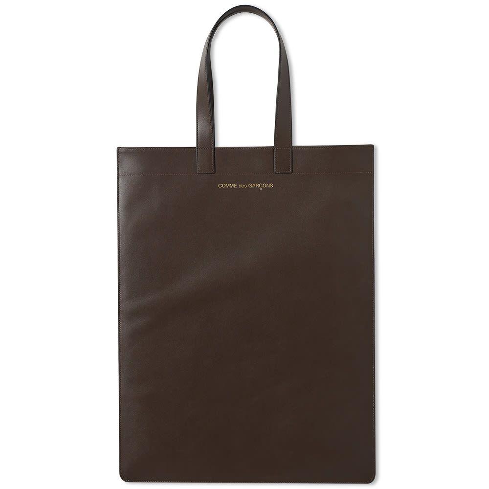 コムデギャルソン Comme des Garcons Wallet メンズ トートバッグ バッグ【Comme des Garcons Classic Leather Tote Bag】Brown