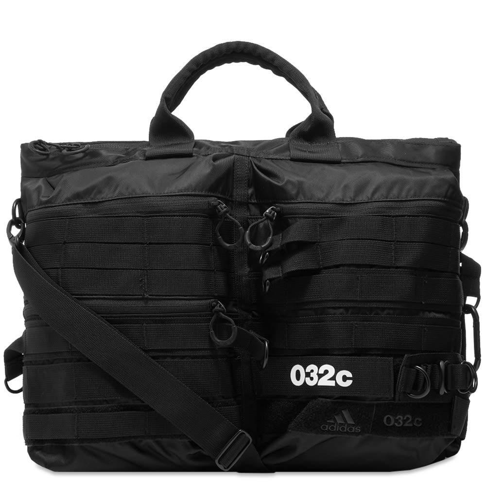 アディダス Adidas Consortium メンズ ボストンバッグ・ダッフルバッグ バッグ【Adidas x 032c Weekend Duffel Bag】Black/Red