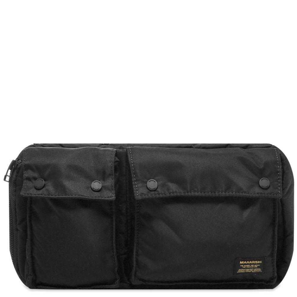 マハリシ Maharishi メンズ ボディバッグ・ウエストポーチ バッグ【Nylon Travel Waist Bag】Black
