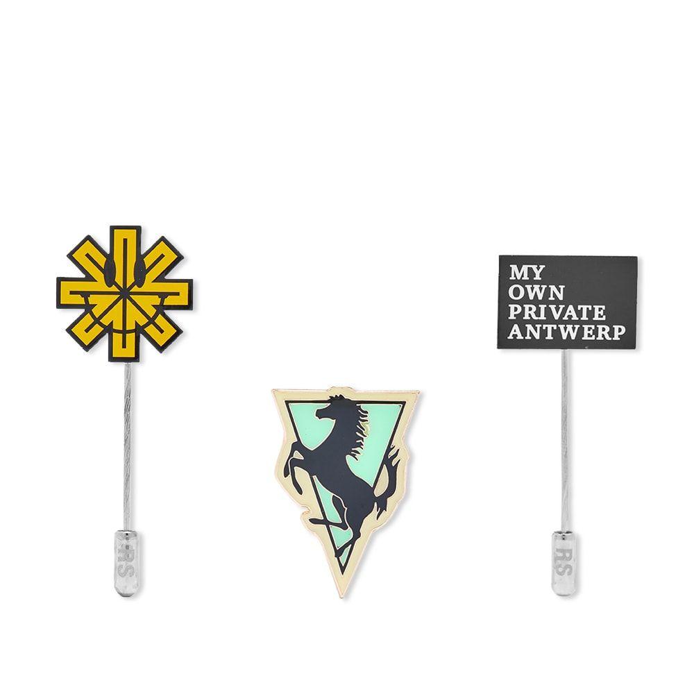 ラフ シモンズ Raf Simons メンズ ラペルピン 【Metal Pin Set A】Multi