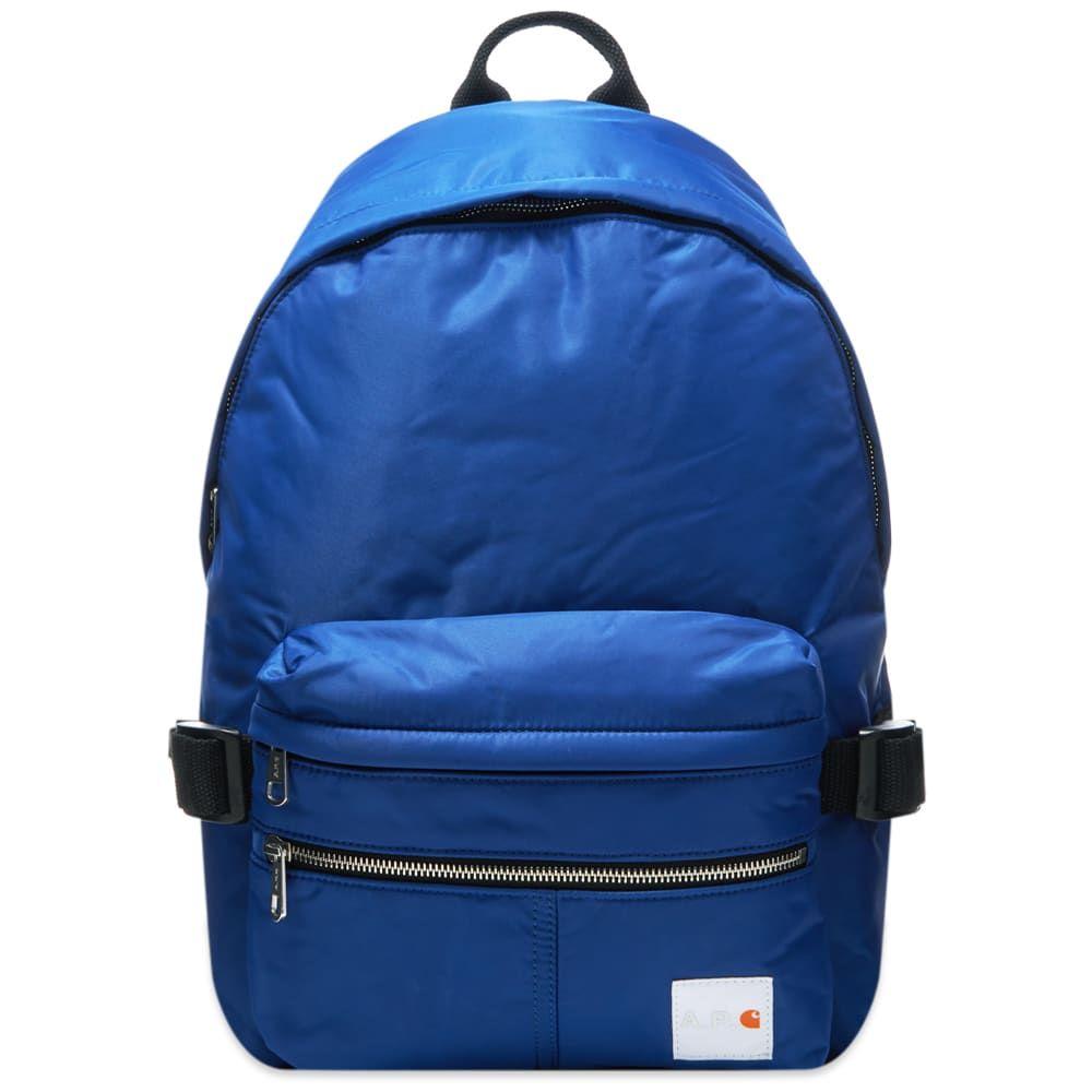アーペーセー A.P.C. メンズ バックパック・リュック バッグ【x Carhartt WIP Backpack】Indigo