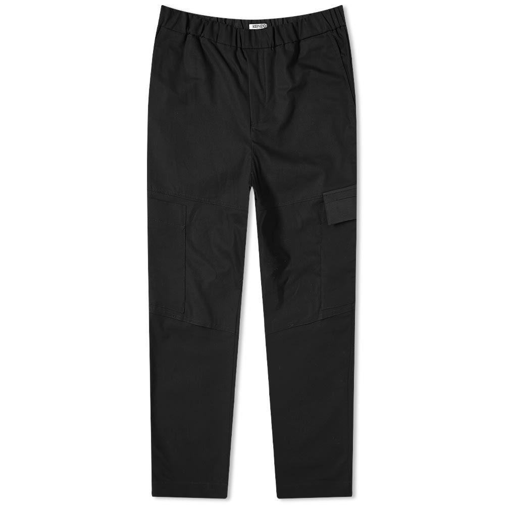 ケンゾー Kenzo メンズ クロップド ボトムス・パンツ【Tapered Cropped Pant】Black