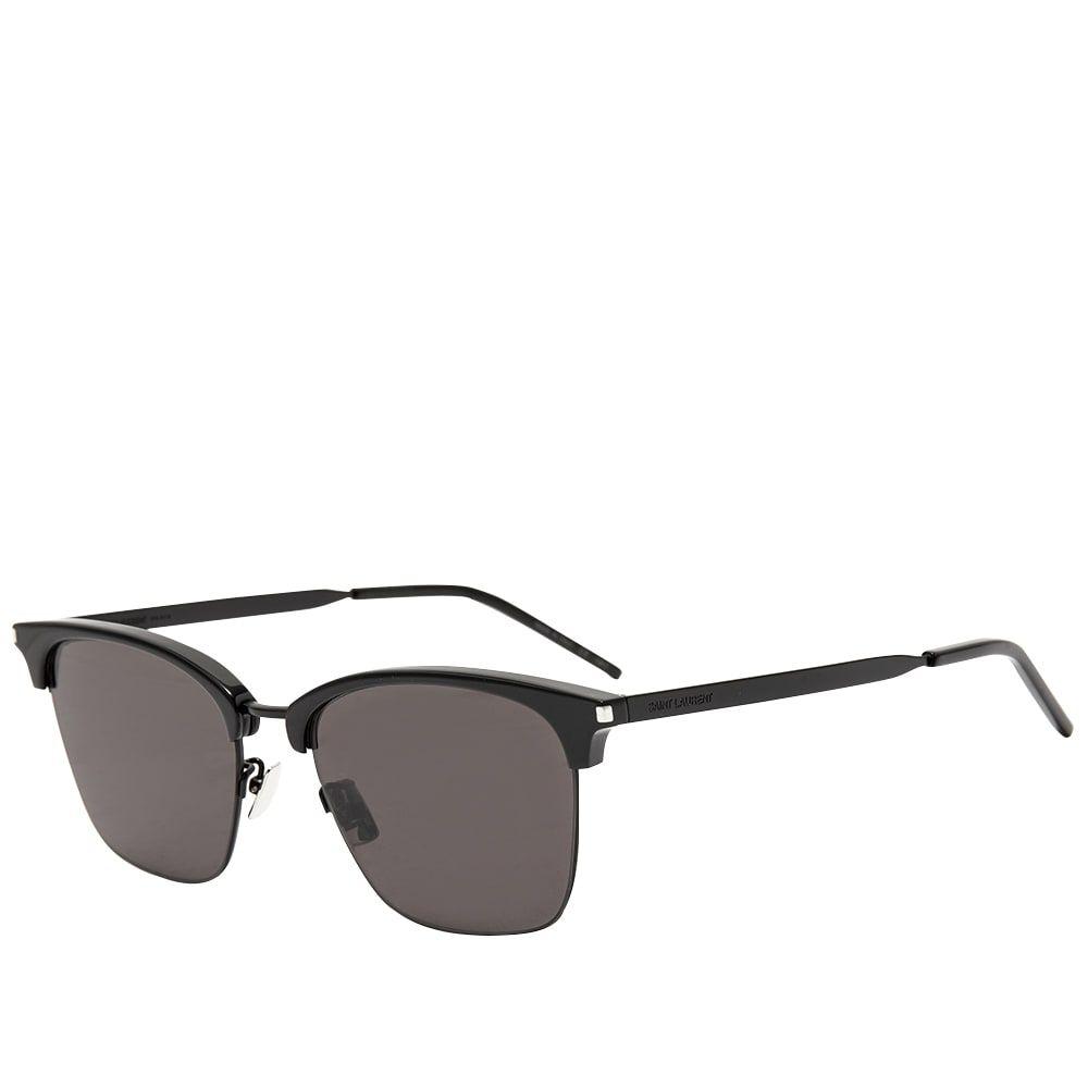 イヴ サンローラン Saint Laurent メンズ メガネ・サングラス 【SL 340 Sunglasses】Triple Black