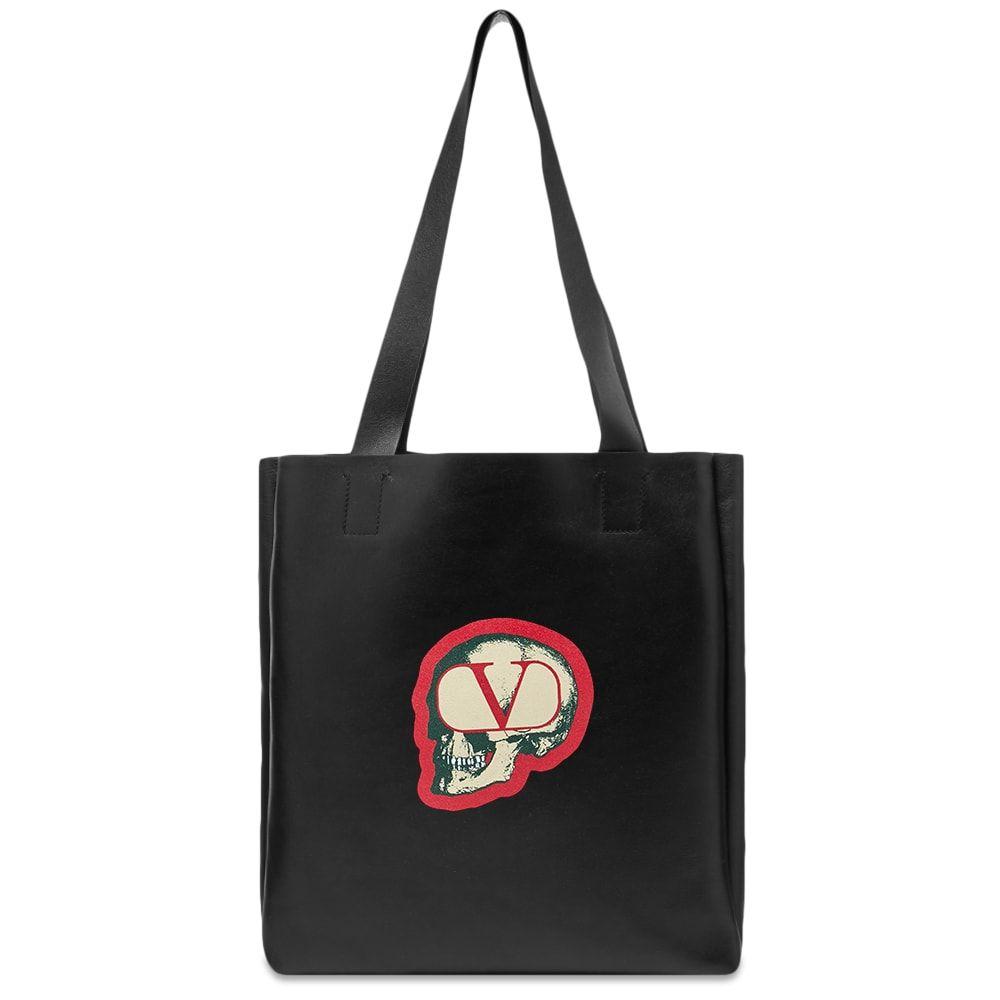 ヴァレンティノ Valentino メンズ トートバッグ バッグ【x Undercover Skull Leather Shopper Tote】Black/White/Red
