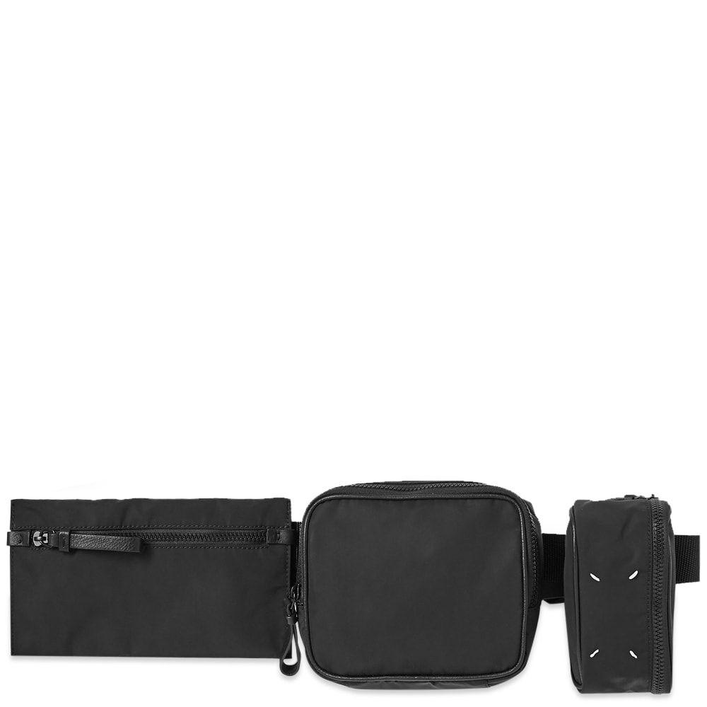 メゾン マルジェラ Maison Margiela メンズ ボディバッグ・ウエストポーチ バッグ【11 Nylon Multi Belt Bag】Black