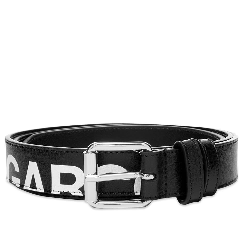 コムデギャルソン Comme des Garcons Wallet メンズ ベルト 【Comme des Garcons Huge Logo Belt】Black