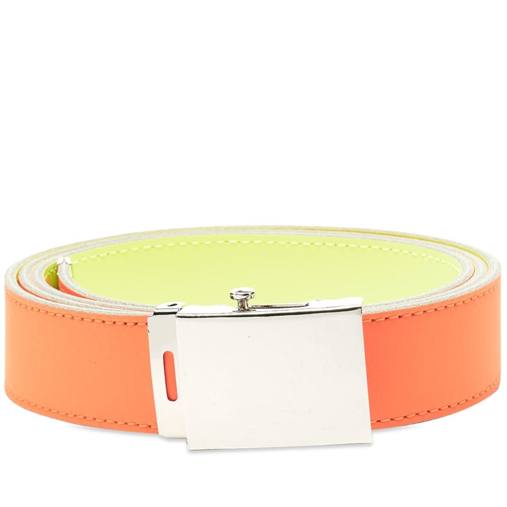 コムデギャルソン Comme des Garcons Wallet メンズ ベルト 【Comme des Garcons Super Fluro Leather Belt】Orange/Yellow