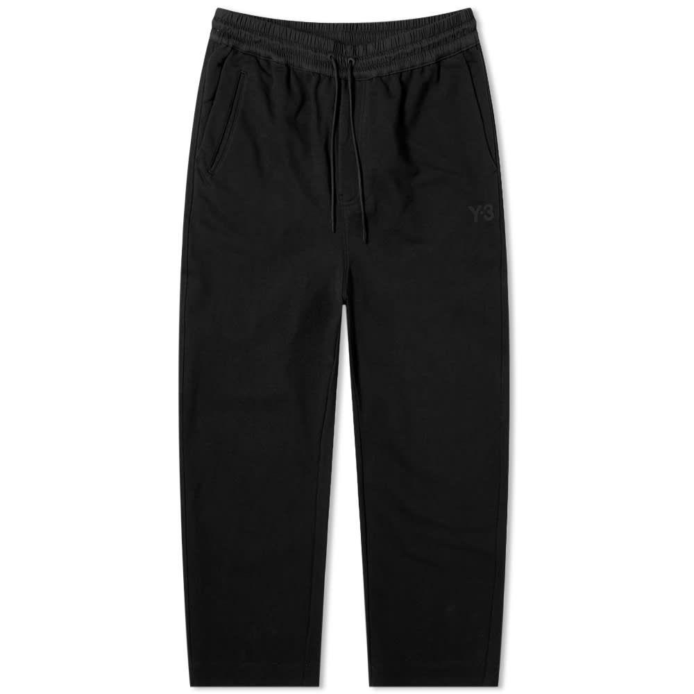 ワイスリー Y-3 メンズ クロップド ボトムス・パンツ【Classic Terry Cropped Pant】Black