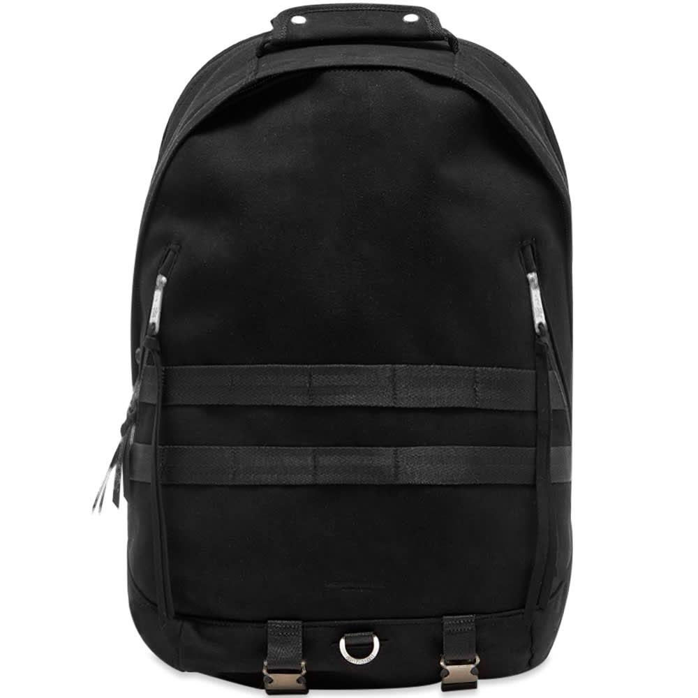 インディスペンサブル Indispensable メンズ バックパック・リュック デイパック バッグ【Suede Swing Daypack】Black