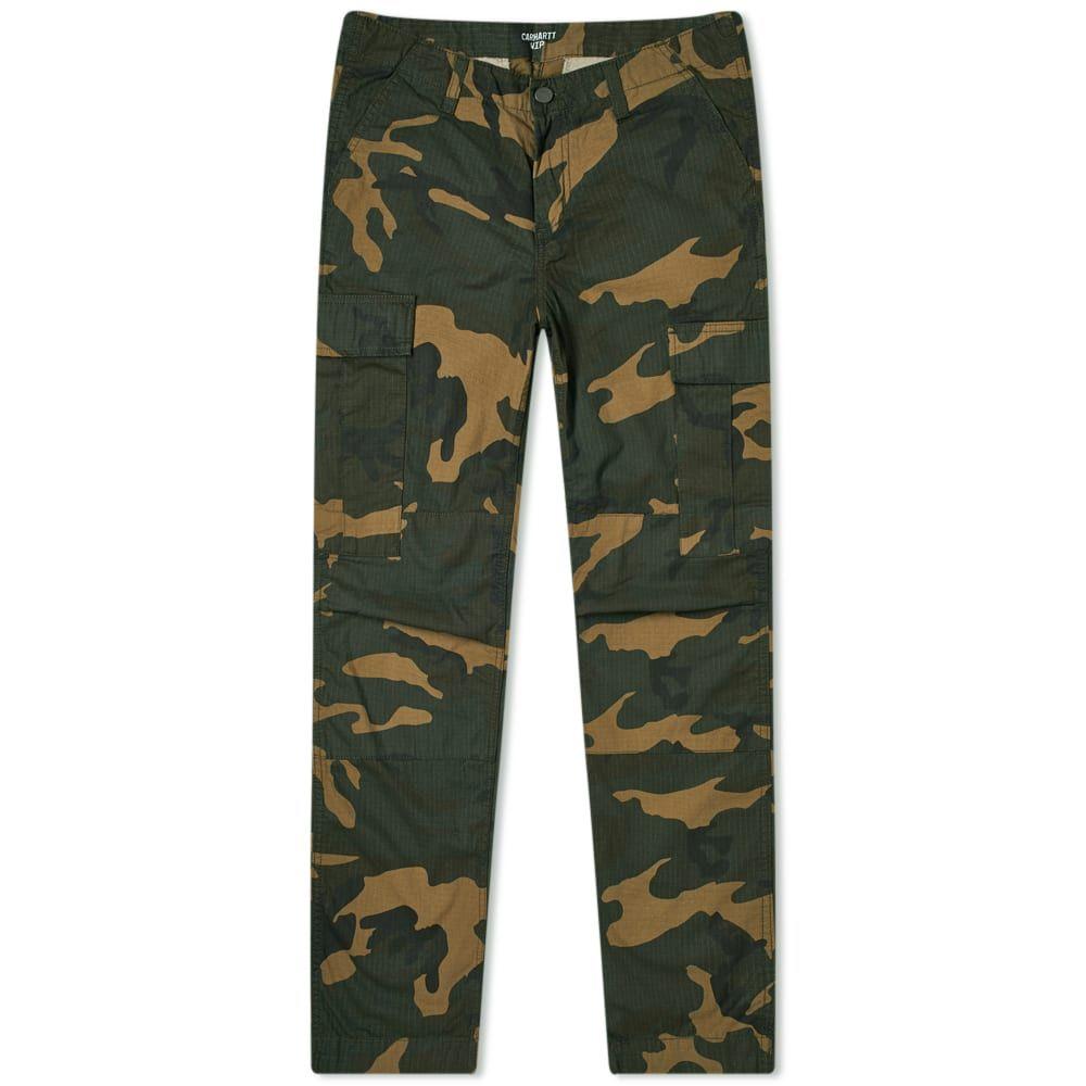カーハート Carhartt WIP メンズ カーゴパンツ ボトムス・パンツ【Regular Cargo Pant】Camo Laurel