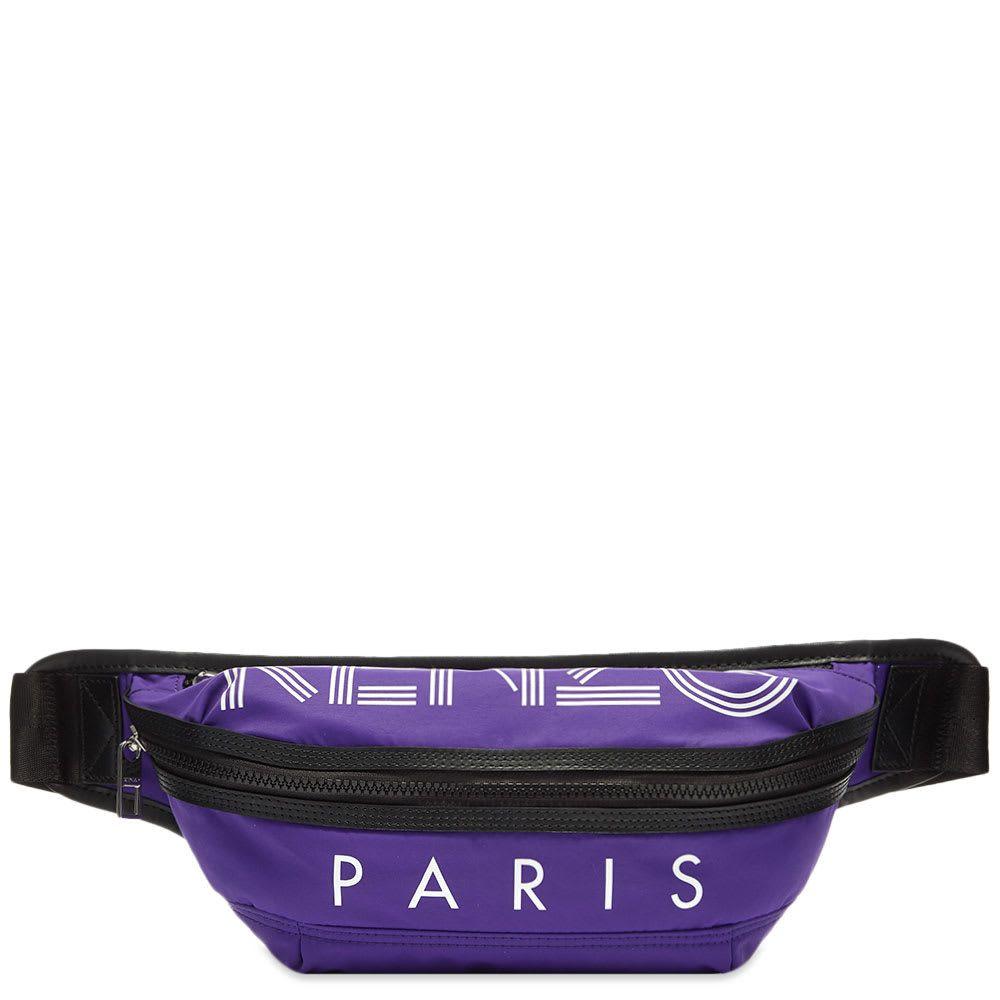 ケンゾー Kenzo メンズ ボディバッグ・ウエストポーチ バッグ【Paris Sport Logo Waist Bag】Aubergine