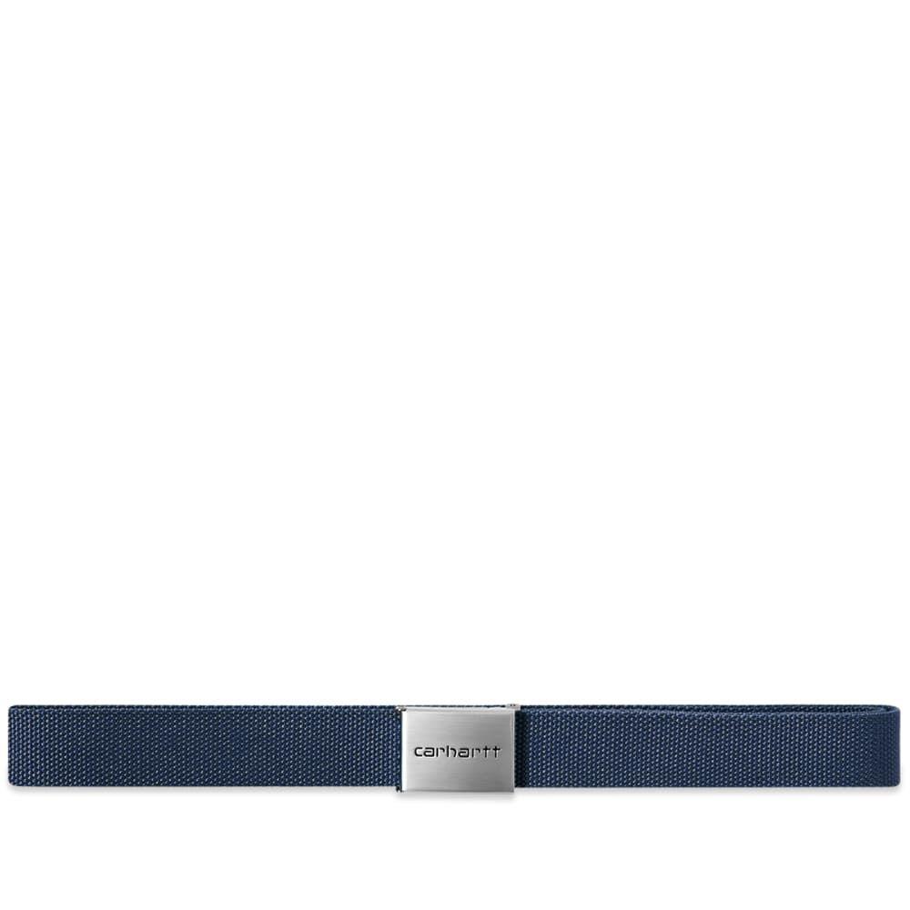 カーハート Carhartt WIP メンズ ベルト 【Chrome Clip Belt】Blue